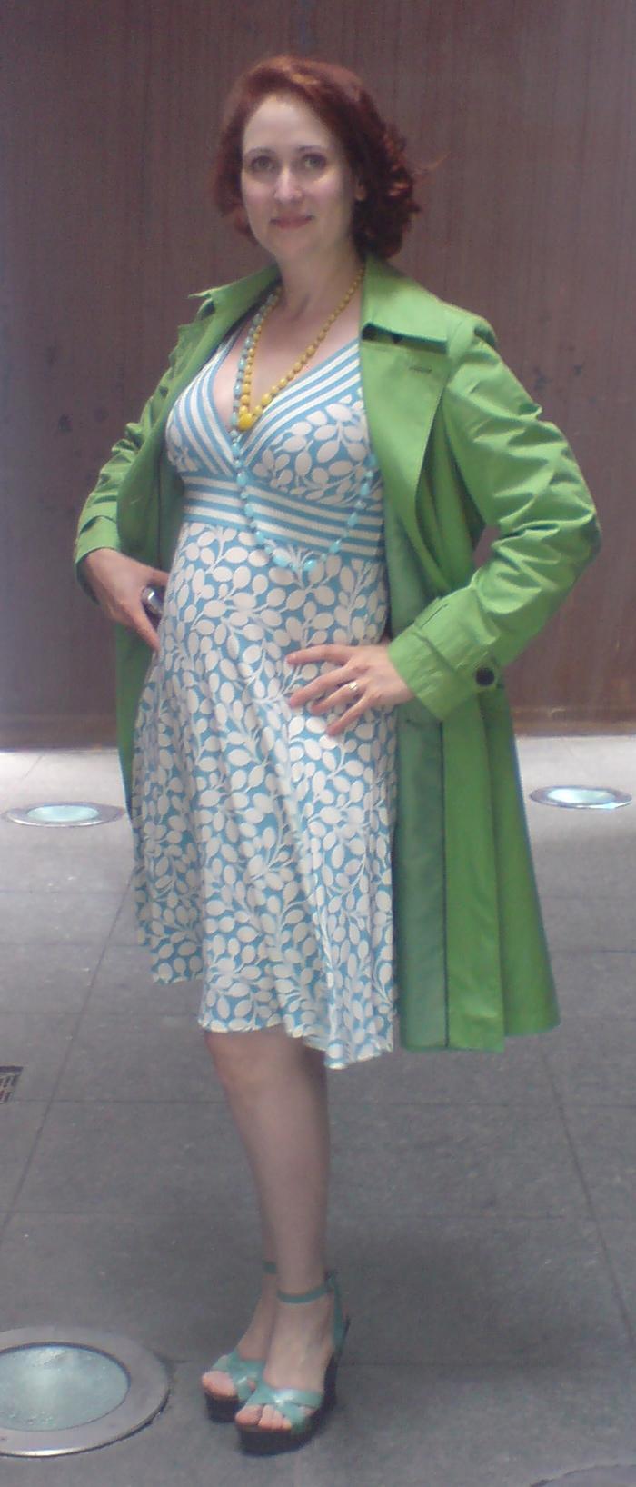 4 months pregnant, June 2008